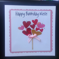 Personalised Birthday Card, female, Mum, Sister, Nan