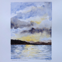 Northwest of Windermere original painting