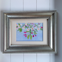 Original watercolour Spring Blossom