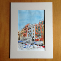 Vernazza, Italy original painting