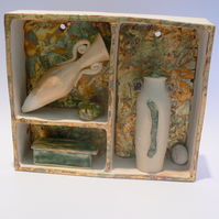 Ceramic Display Box and Artefacts