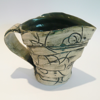 Green Ceramic Jug