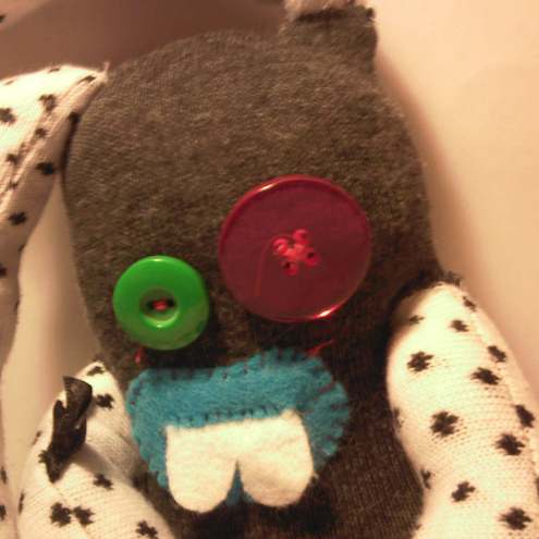 Sock Monster 'Nibbles'