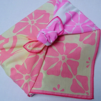 my furoshiki - pink butterfly reusable gift wrap