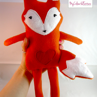 Rag Doll Soft Fox Toy Fabric Plush PDF Pattern