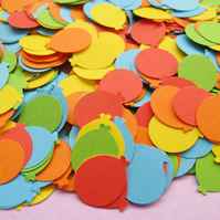 500 Mini Balloon Die Cut Confetti - Wedding, Birthday Party, Baby Shower Decor