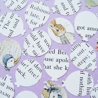 100 Beatrix Potter Balloon Confetti - Baby Shower, Birthday Party, Christening