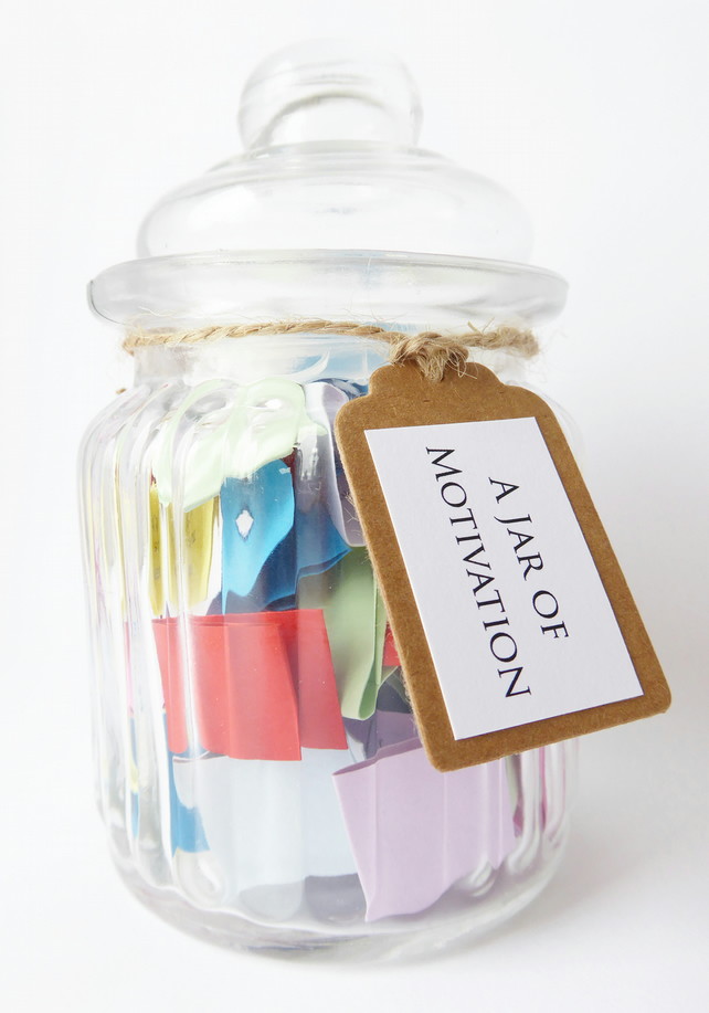 SPECIAL OFFER A Jar of Motivation - Positive Encouraging Quotes to Motivate