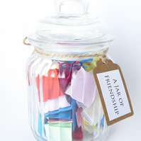 SPECIAL OFFER A Jar of Friendship - Perfect Gift For A Friend - Handmade Quotes