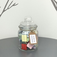 A Jar of Courage - Filled with quotes to inspire strength courage