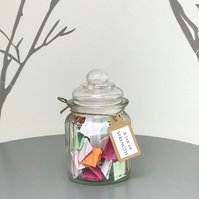 SPECIAL OFFER - A Jar of Strength - Calming, Encouraging, Motivational quotes