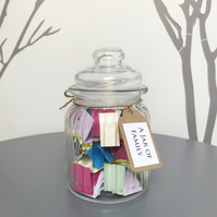 A Jar of Family - Remind family how special they are - Gift