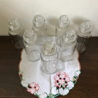 Retro Vintage Glass Storage Jars