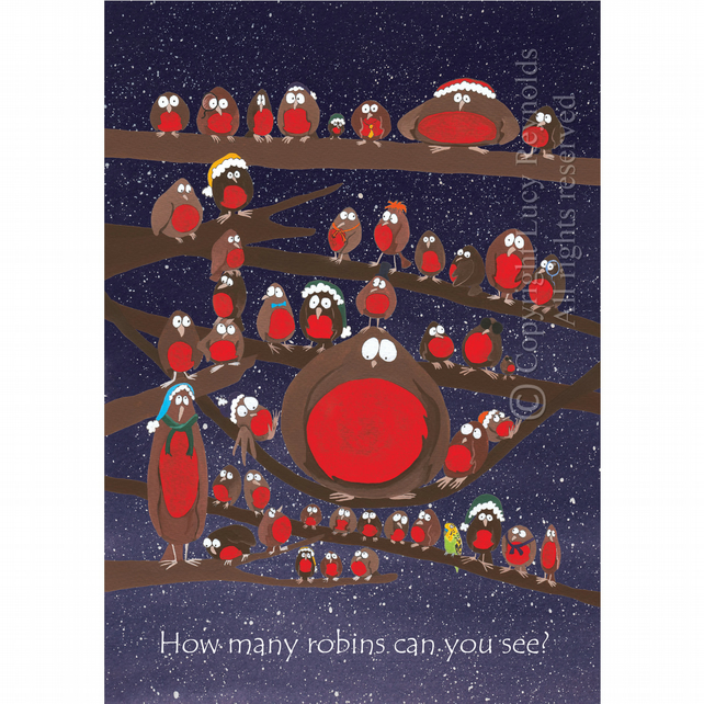 How many robins can you see? (A5)
