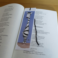 Zebra bookmark