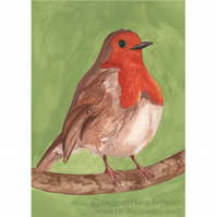 Robin Greeting Card A6