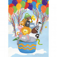 Balloon Animals Card