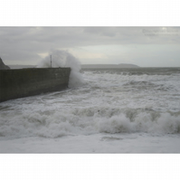 Charlestown Crashing Wave Print