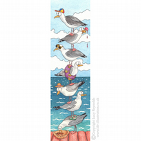 Seagulls Bookmark