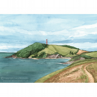 Gribbin Head Print Small
