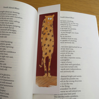 Cheetah bookmark