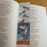 Seagull Bookmark