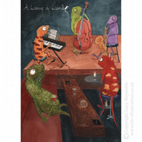 Lounge of Lizards Card