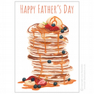 Father's Day Pancake Tower Card