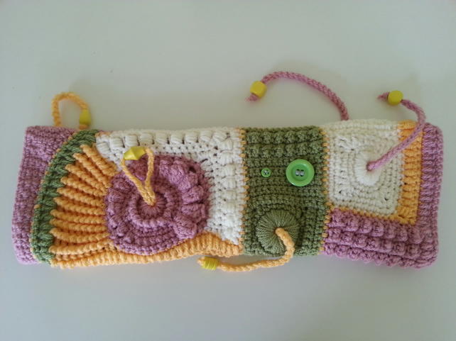 Twiddle muff, Sensory band - Folksy