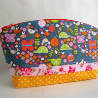 Cotton  Make Up Bag