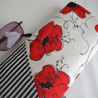 Poppy Glasses case - Cotton Glasses case