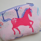 Kids Cotton Unicorn Coin Purse