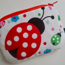 Kids Coin Purse - Ladybird Coin Purse