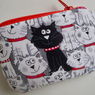 Kids Cotton Cat Purse