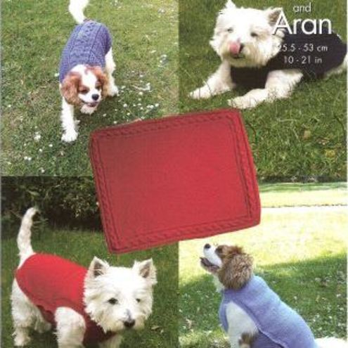 Pattern for Knitting Dog Coat(s) - Westie Lovers Welcome!!!