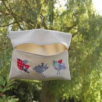 Canvas Tweety Birds Peg Bag
