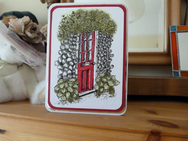 Red Door Card