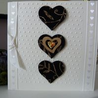 Dramatic Heart Card