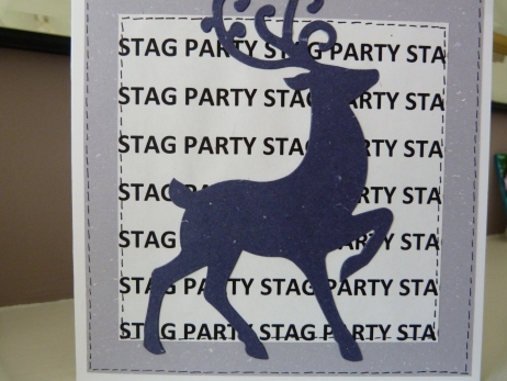 Stag Party Card