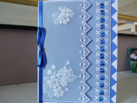 Very Special Personalised Parchment Card