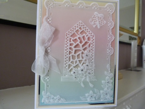 Parchment Church Window Card