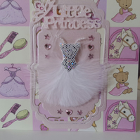 Little princess (2)birthday card