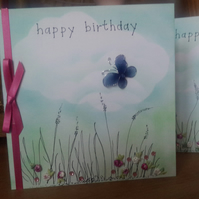 Meadow birthday card