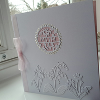 Floral card for mum
