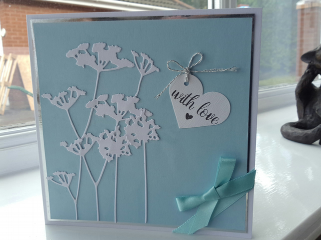 With love acillea card