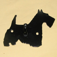 Scottie dog wall hook