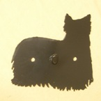 Yorkshire Terrier Dog Wall Hook