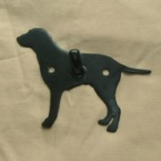 Curley Coated Retriever Dog Wall Hook