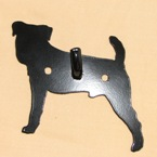 Jack Russel Dog Wall Hook