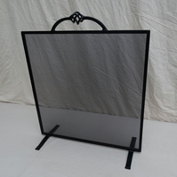 Handmade Fireguard. Bespoke Steel Fire Guard. Made to measure